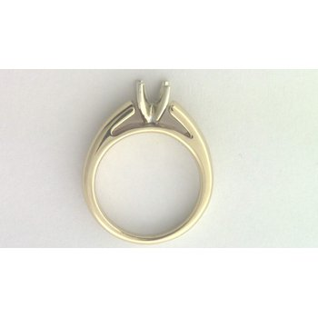 14k Yellow Gold (no Major Stone Currently) Ring