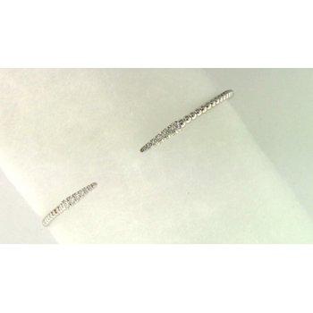 Ladies' 14k White Gold Diamond Bracelet