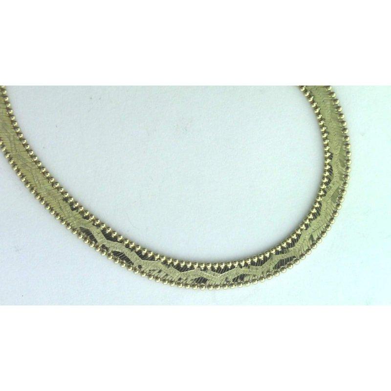 Pugh's Signature 14k Yellow Gold Estate Necklace