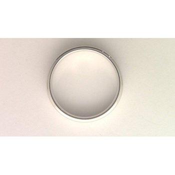 Gentlemans' 14k White Gold Ring