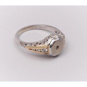 Gold Ring Mounting