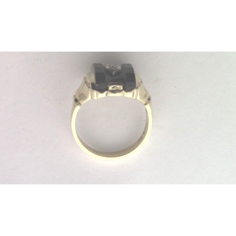 Pugh's Signature 10k Yellow Gold Diamond Ring