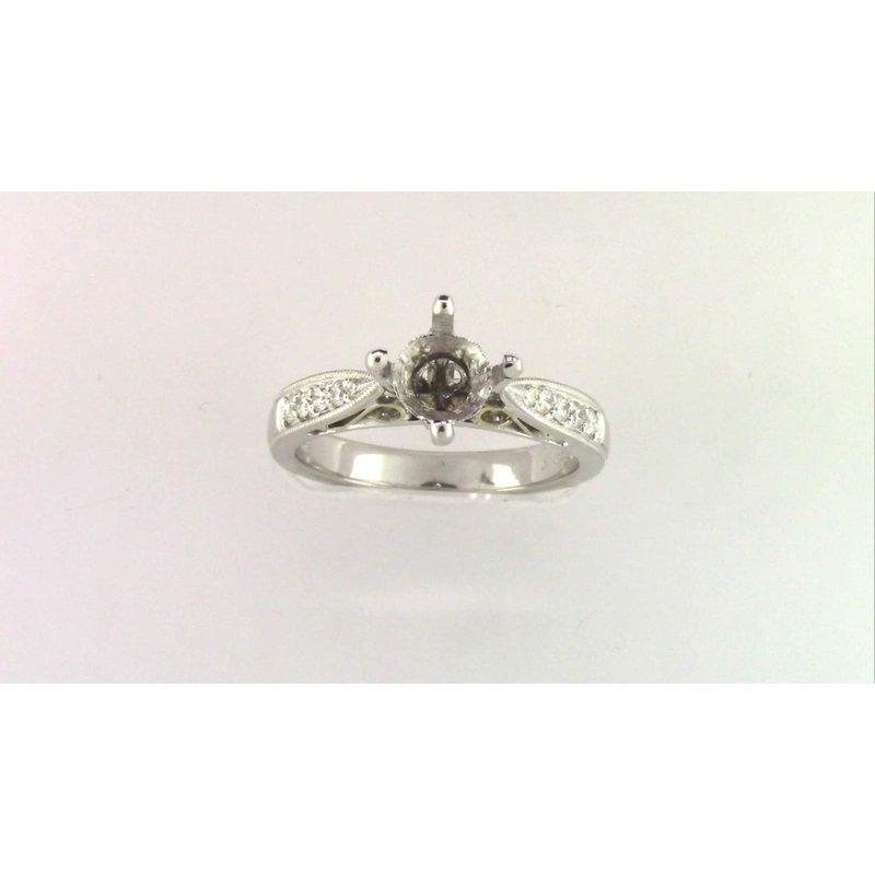 Pugh's Signature Ladies' 18k White Gold Sapphire Ring