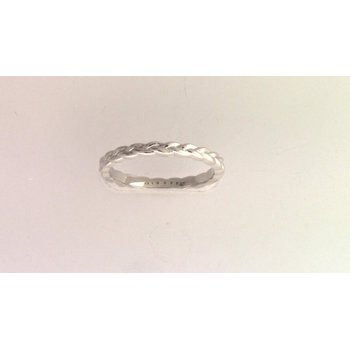 Ladies' 14k White Gold Band