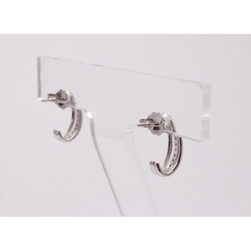 Allison-Kaufman 14k White Gold Diamond Earrings