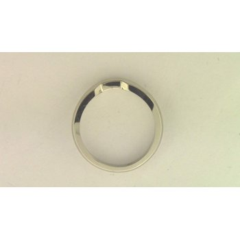 14k White Gold Band
