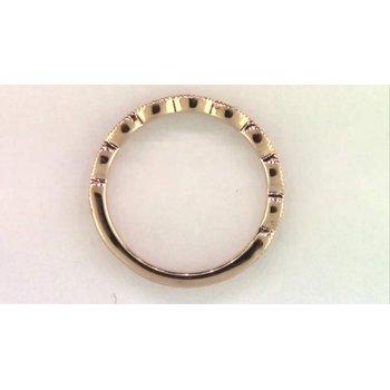 Ladies' 14k Rose Gold Diamond Ring