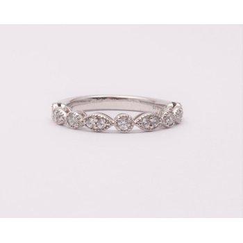Ladies' 14k White Gold Diamond Ring