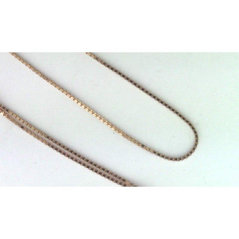 Pugh's Signature 14k Rose Gold Estate Necklace