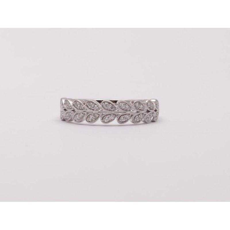 Allison-Kaufman Ladies' 14k White Gold Diamond Ring