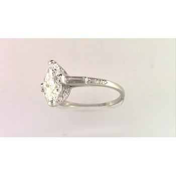 Ladies' Platinum Diamond Ring