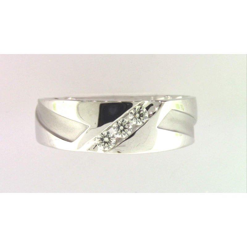 Pugh's Signature Gentlemans' 10k Yellow Gold Diamond Ring