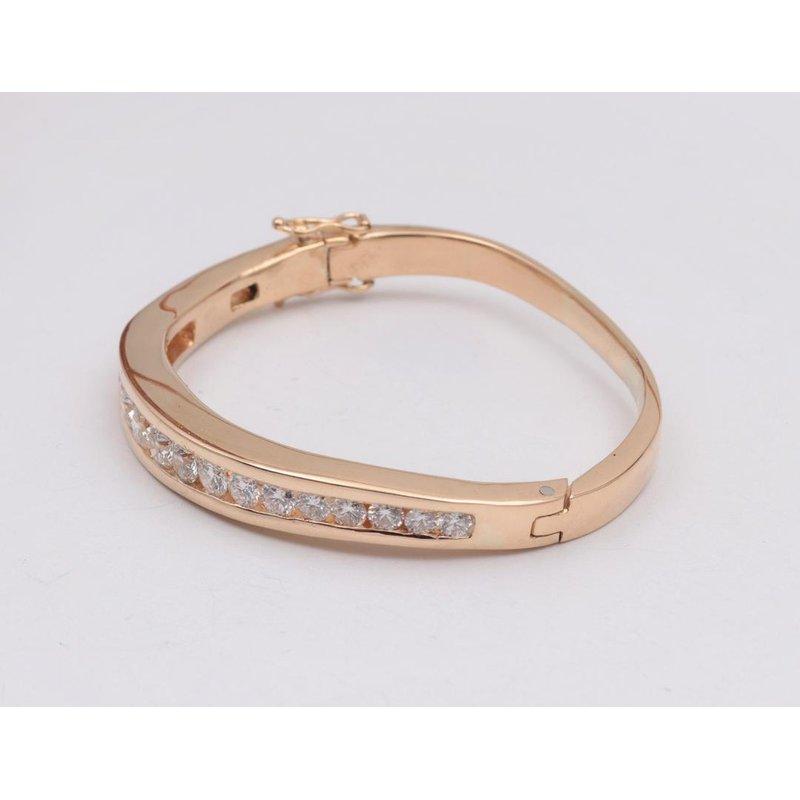 Pugh's Signature 18k Yellow Gold Diamond Bracelet