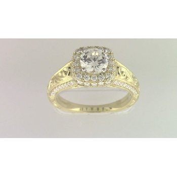 Ladies' 6 Mm CZ Ring