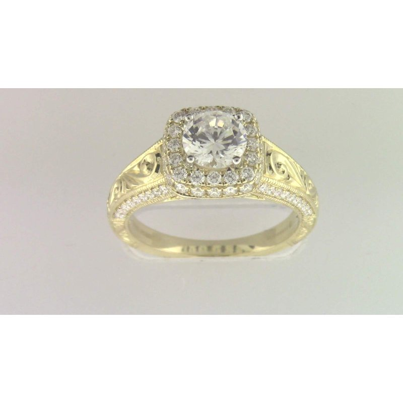 Zeghani Ladies' 6 Mm CZ Ring