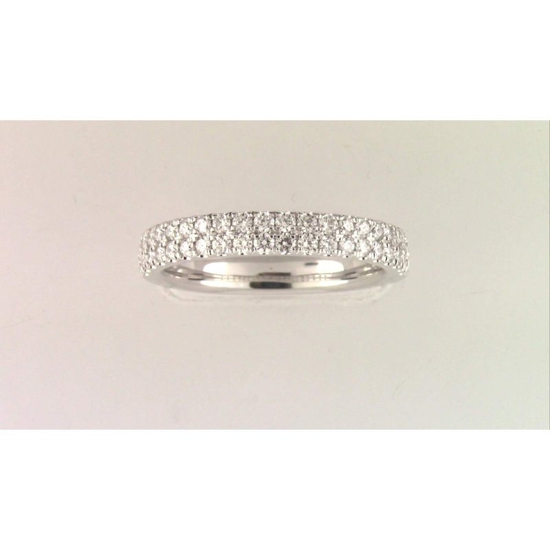 Pugh's Signature 14k White Gold Diamond Ring