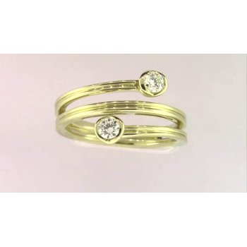 Ladies' 14k Yellow Gold Diamond Ring