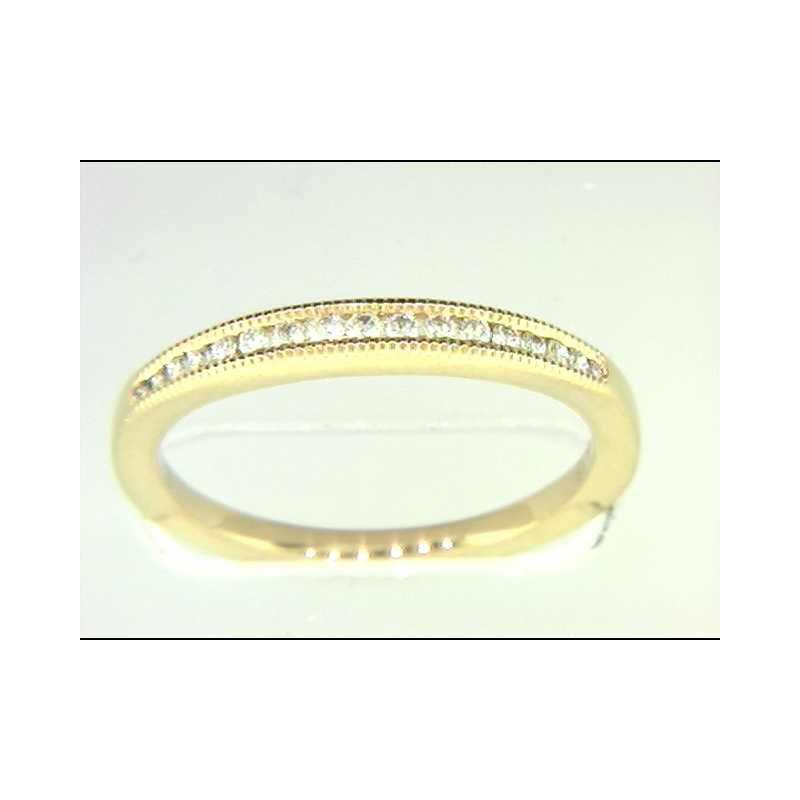 Pugh's Signature Ladies' 14k Yellow Gold Diamond Wedding Ring
