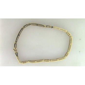 Ladies' 14k Yellow Gold Ruby Bracelet