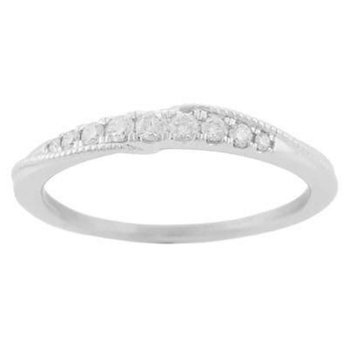 Ladies' 14k White Gold Diamond Ring