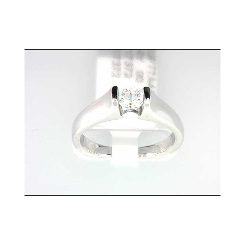 Ostbye 14k White Gold Ring Mounting