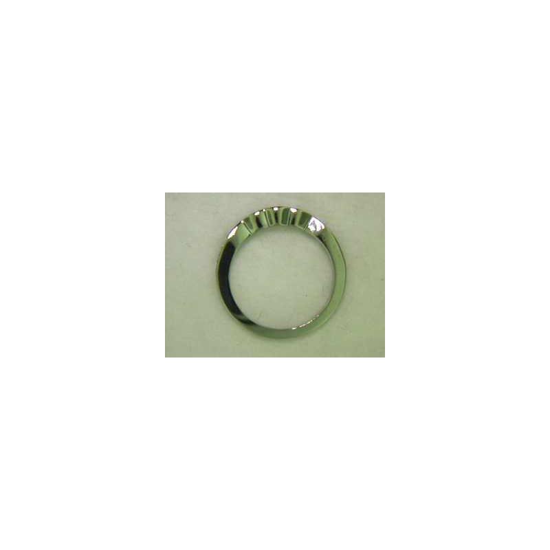 Pugh's Signature 14k White Gold Diamond Lady's Wedding Ring