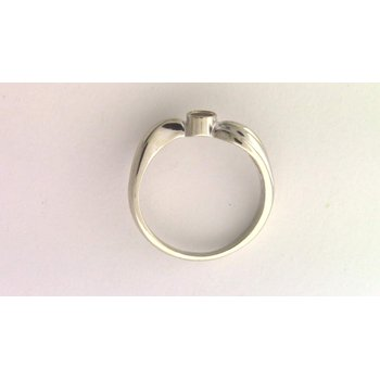 14k White Gold Ring Mounting