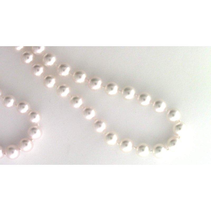Pugh's Signature 14k White Gold Akoya Cultured Pearl Pearl Strand