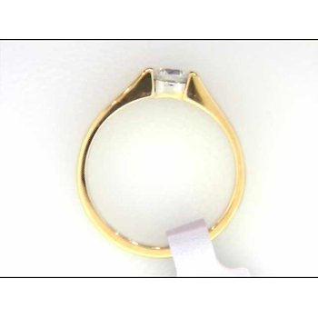 Ladies' 14k Yellow Gold Ring Mounting