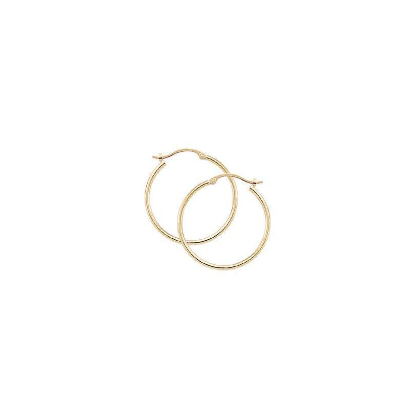 Pugh's Signature 14k Yellow Gold Earring