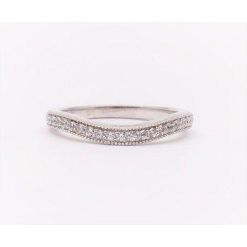 Ladies' 14k White Gold Wedding Ring