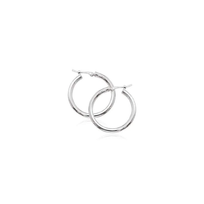 Pugh's Signature 14k White Gold Earrings
