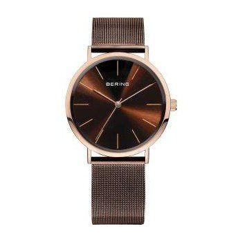 Gentlemans' Stainless Steel Bering Designer Watch