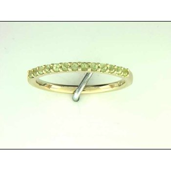 Ladies' 14k Yellow Gold Peridot Ring