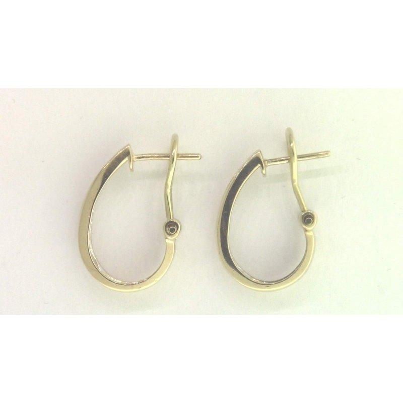 Pugh's Signature 14k Yellow Gold Diamond Earrings