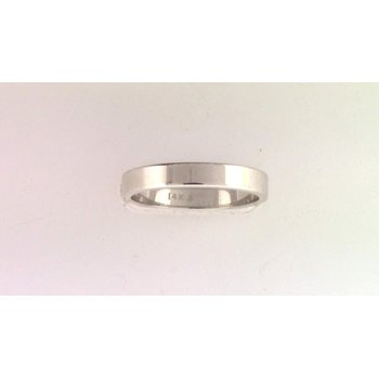 Ladies' 14k White Gold Wedding Ring