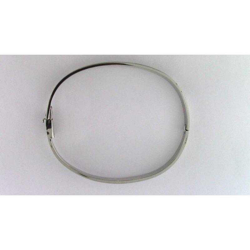 Pugh's Signature 14k White Gold Bracelet