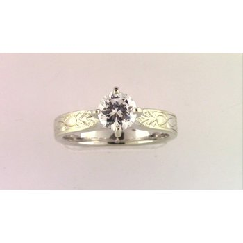 Ladies' 18k White Gold Ring