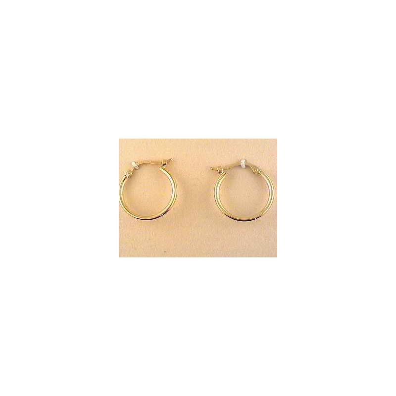 Pugh's Signature Gold Earring