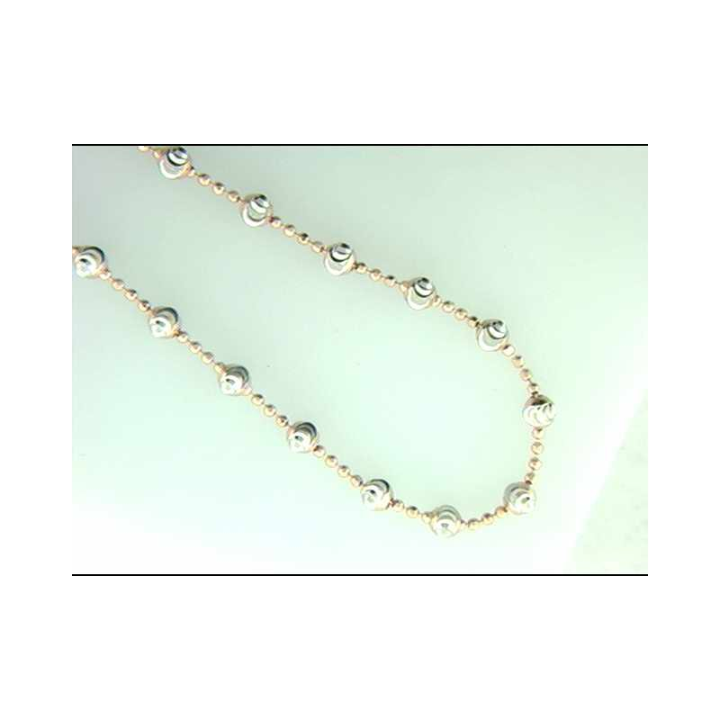 Officina Bernardi Ladies' Sterling Neck Chain