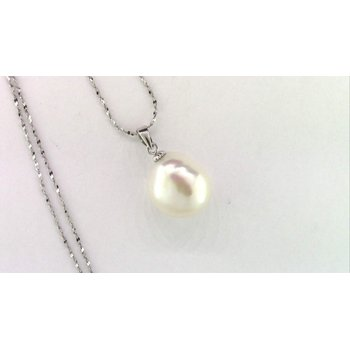 Sterling Freshwater Pearl Pendant