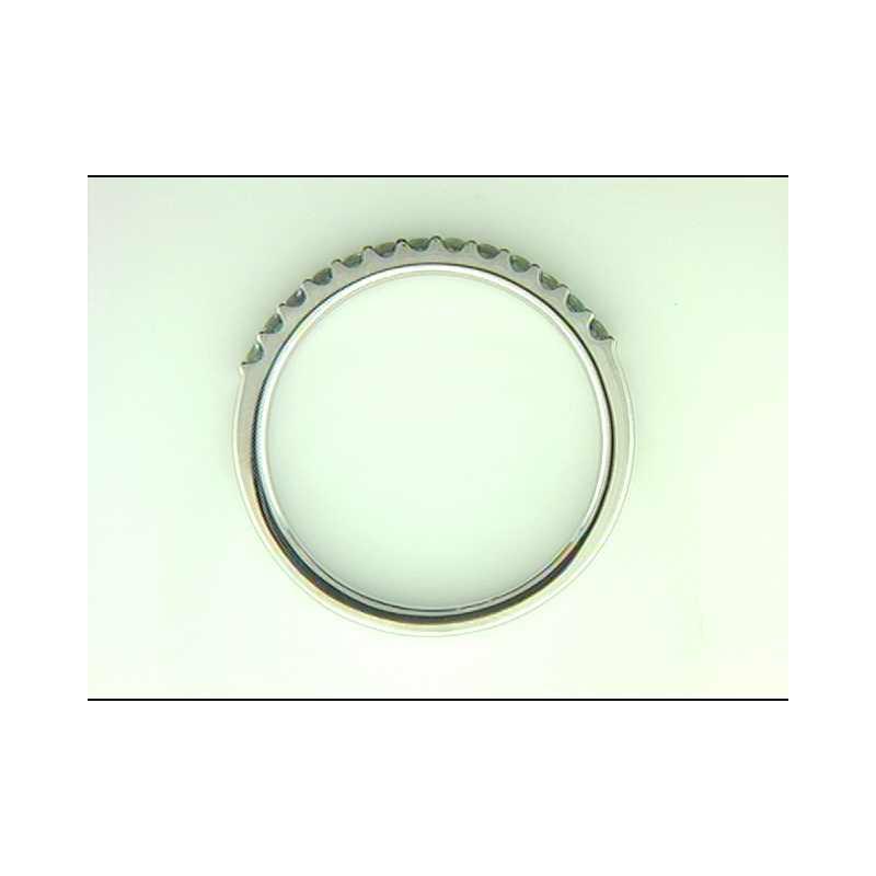 Ostbye 14k White Gold Created Alexandrite Ring