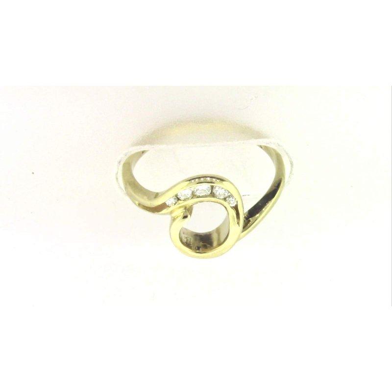 Pugh's Signature 14k Yellow Gold Ring Mounting