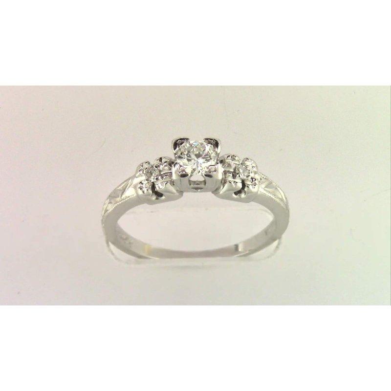 Pugh's Signature Ladies' Platinum Diamond Ring
