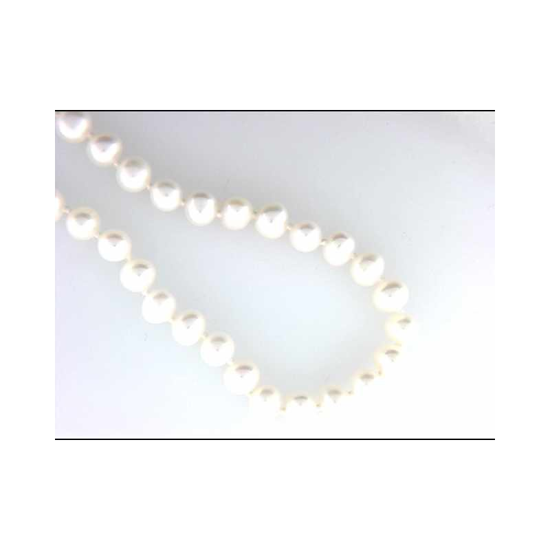 Pugh's Signature 14k White Gold Freshwater Pearl Pearl Necklace