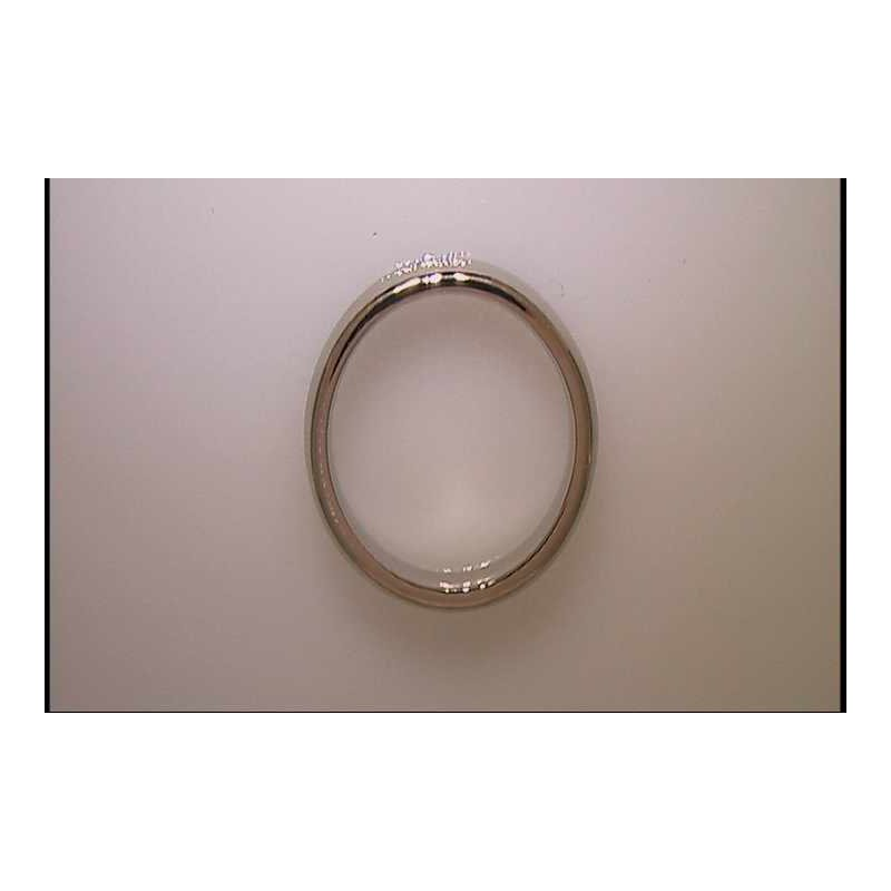 Pugh's Signature 18k White Gold Wedding Ring