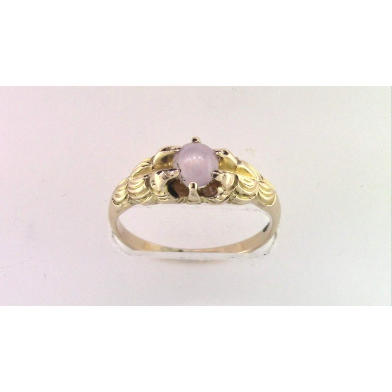 Pugh's Signature 14k Yellow Gold Star Sapphire Ring