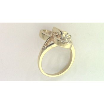 14k Yellow Gold Diamond Ring Mounting