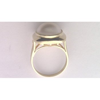 14k Yellow Gold Mabe' Pearl Ring