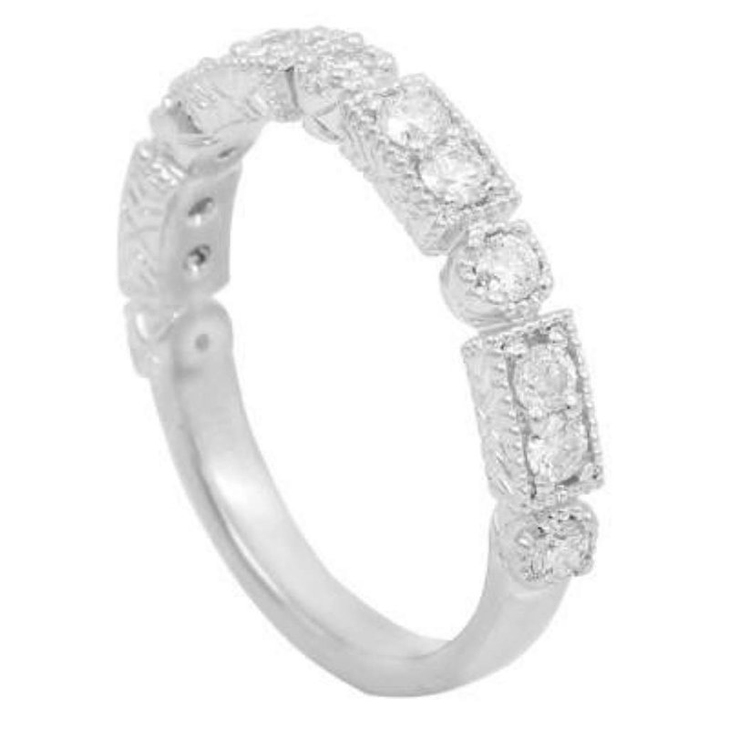 Pugh's Signature Ladies' 14k White Gold Diamond Ring